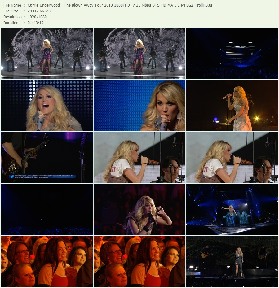Torrent Carrie Underwood Blown Away