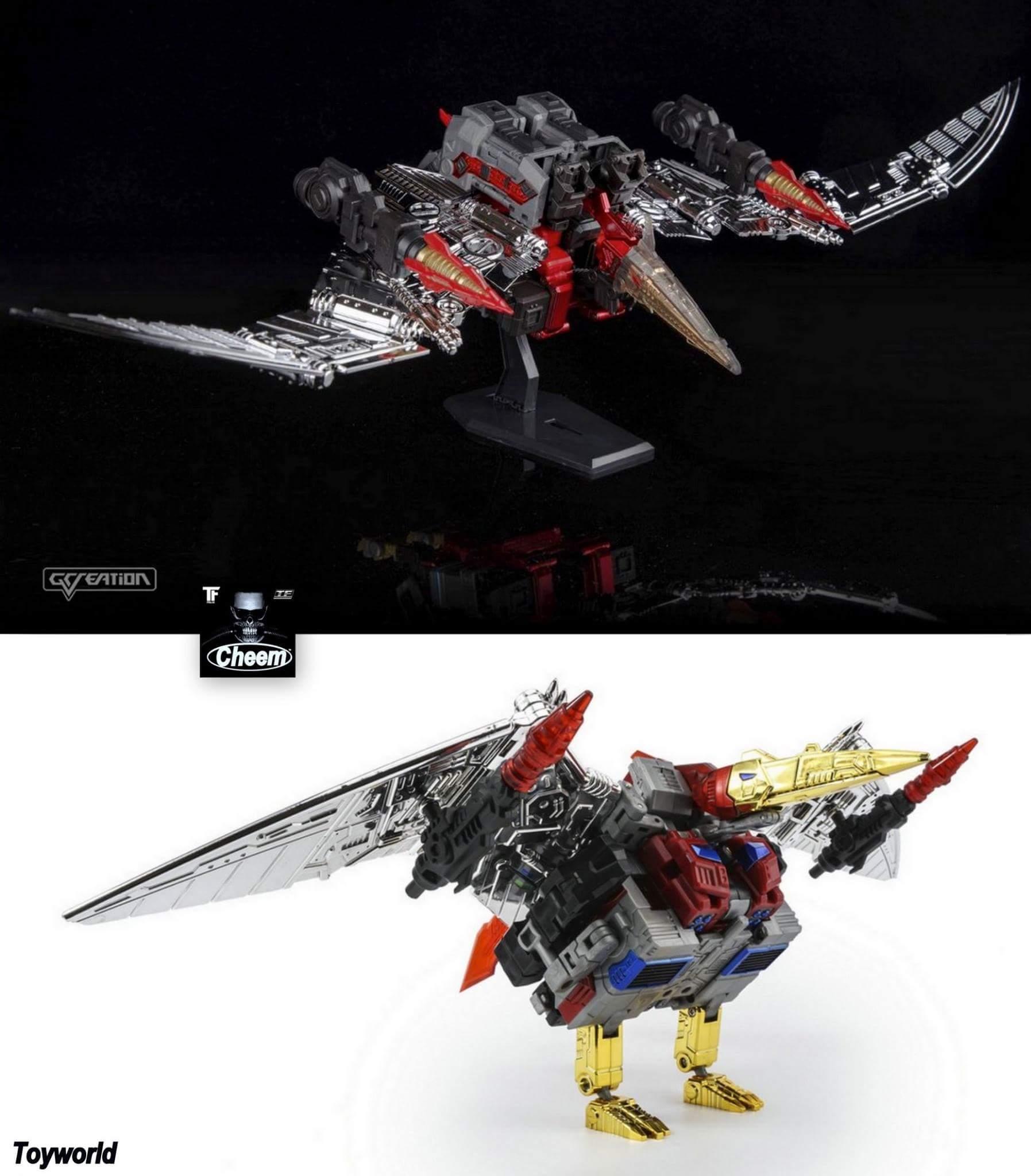 [GCreation] Produit Tiers - Jouet ShuraKing - aka Combiner Dinobots - Page 3 HersLZEq