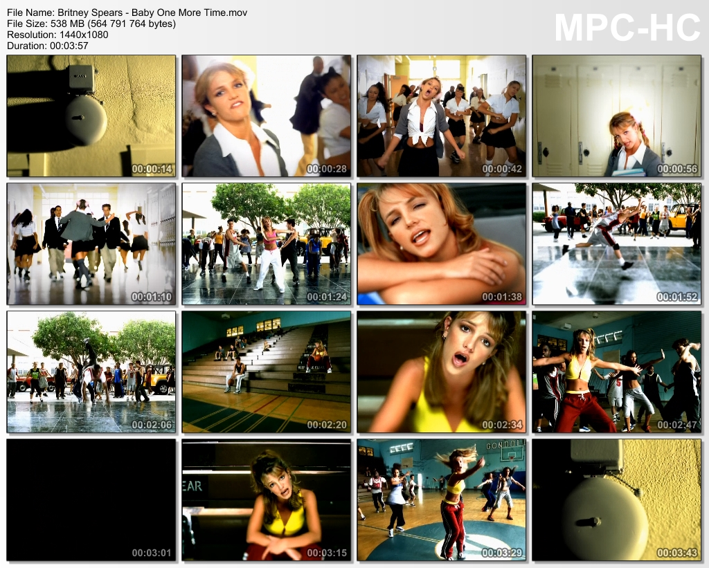 Music video britney spears baby one more time gif on gifer by.