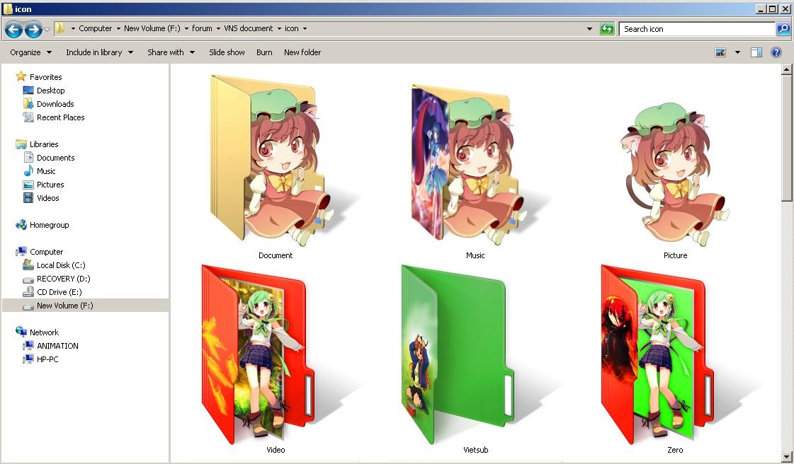 Dịch vụ làm Touhou Folder Icon theo yêu cầu X7fKzy4t