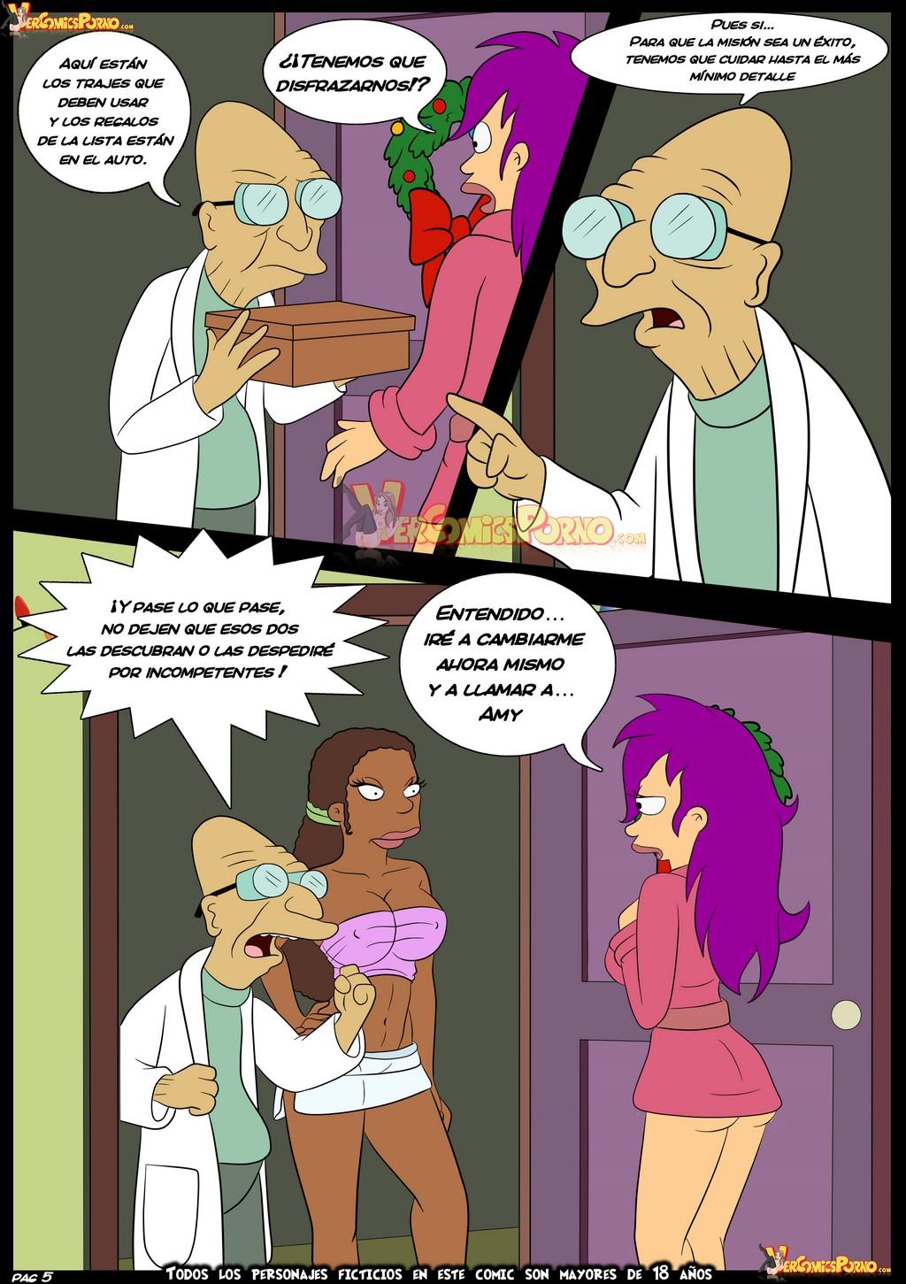 futurama comic xxx